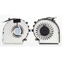 Ventilátor pre MSI GE62 GE72 GL62 GL72 PE60 PE70 GE62VR GP62MVR